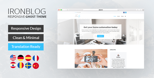 Iron Blog - Responsive Ghost Theme - 11