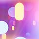 Neon Glowing Stars Tunnel - 115