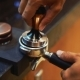 Making Ground Coffee with Tamping Fresh Coffee. Making Coffee From Start To finish.Tamping Fresh - VideoHive Item for Sale