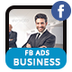 Business Solutions FB Ads Banner - AR