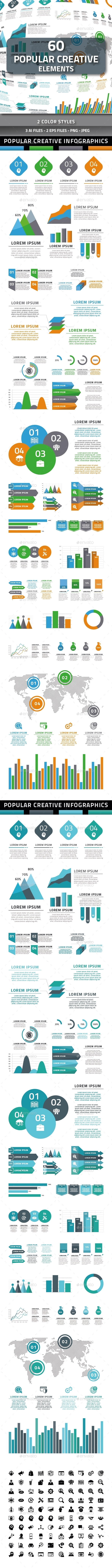 Popular Creative Elements - Infographics