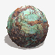 Painted Desert Green Rock Seamless Texture 2