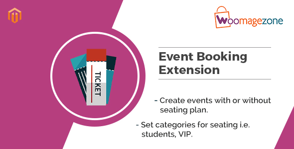 Magento Event Ticket Extension - CodeCanyon Item for Sale