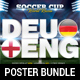 World Russia Soccer Cup 2018 Poster Bundle - GraphicRiver Item for Sale