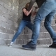 Man Beats a Woman against a Wall - VideoHive Item for Sale