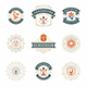 36 Restaurant Logos and Badges - GraphicRiver Item for Sale