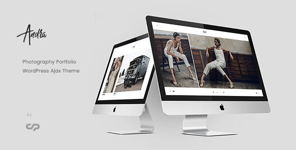Image of Andra - Photography Portfolio WordPress Ajax Theme