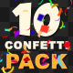 Confetti Falling Pack - VideoHive Item for Sale