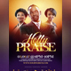 Holly Praise Flyer Template