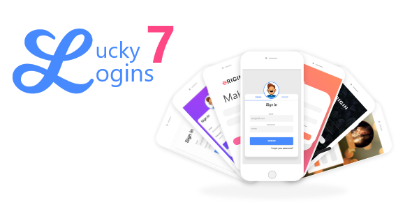 Ionic Lucky 7 Logins - CodeCanyon Item for Sale