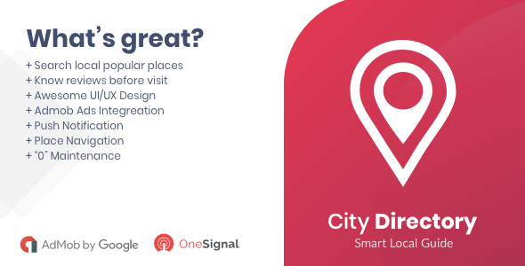 City Directory Android Native App            Nulled