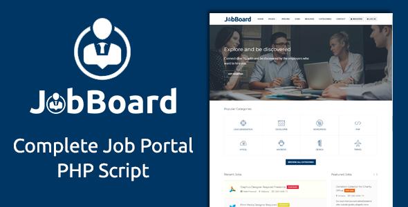 Job Board - Complete PHP Job Board Platform - CodeCanyon Item for Sale