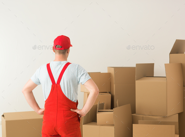 warehouse worker - Stock Photo - Images