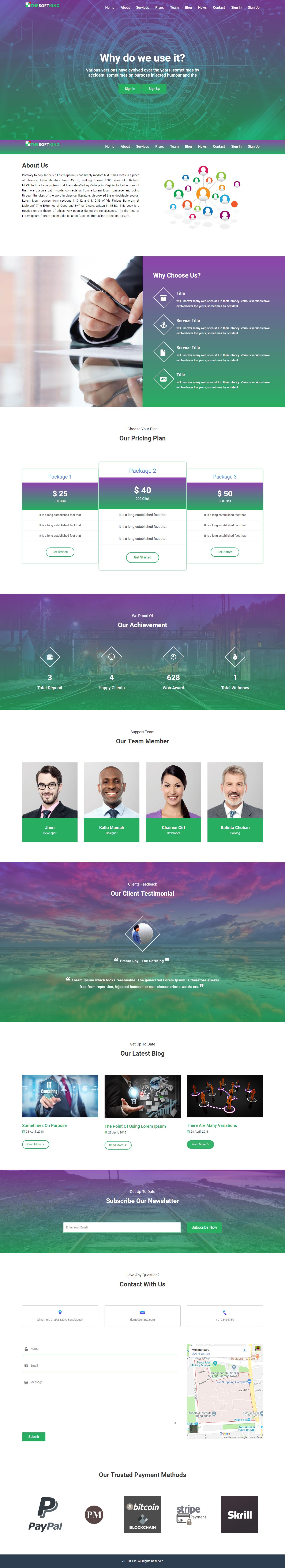 Oki - Pay Per Click Platform