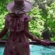 Female Tourist in Hat Looking at Sra Morakot Blue Pool at Krabi Province in Thailand - VideoHive Item for Sale