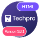 Techpro - App, Saas, Software & WebApp Landing Template - ThemeForest Item for Sale