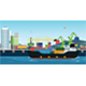 Sea Transportation Logistic - GraphicRiver Item for Sale