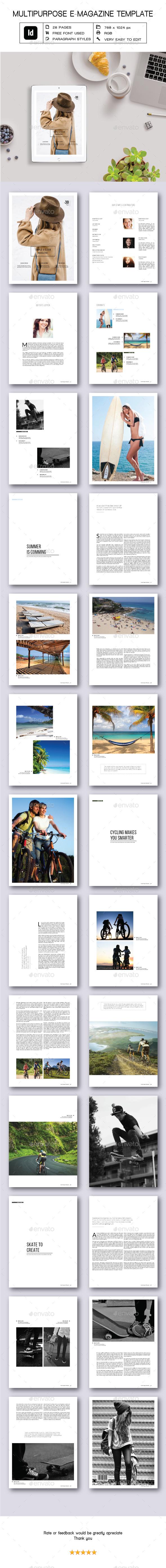 Multipurpose E-Magazine - Digital Magazines ePublishing