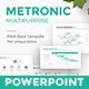 Metronic Business Proposal Powerpoint Template