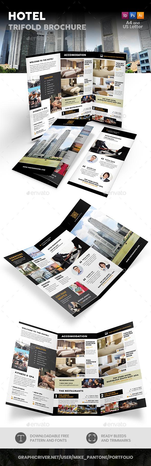 Hotel Trifold Brochure 8 - Informational Brochures
