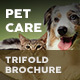 Pet and Animal Care Trifold Brochure - GraphicRiver Item for Sale