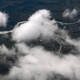 Airplane Window, Cloudy  - VideoHive Item for Sale