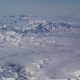 Flying Over Snowy Mountains, View From Airplane - VideoHive Item for Sale