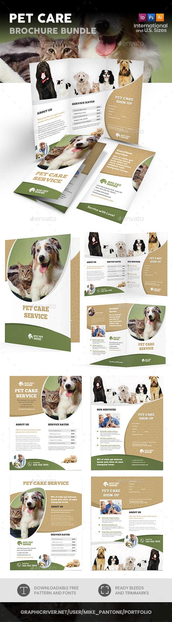 Pet Care Print Bundle - Informational Brochures