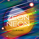 Zeon Neon Flyer/Poster Template - GraphicRiver Item for Sale
