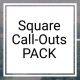 Square Call-Outs - VideoHive Item for Sale