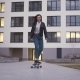 Teen Girl Riding a Longboard - VideoHive Item for Sale