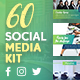 Social Media Kit - GraphicRiver Item for Sale