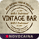 Vintage Bar Food Menu Design A4 & US Letter - GraphicRiver Item for Sale