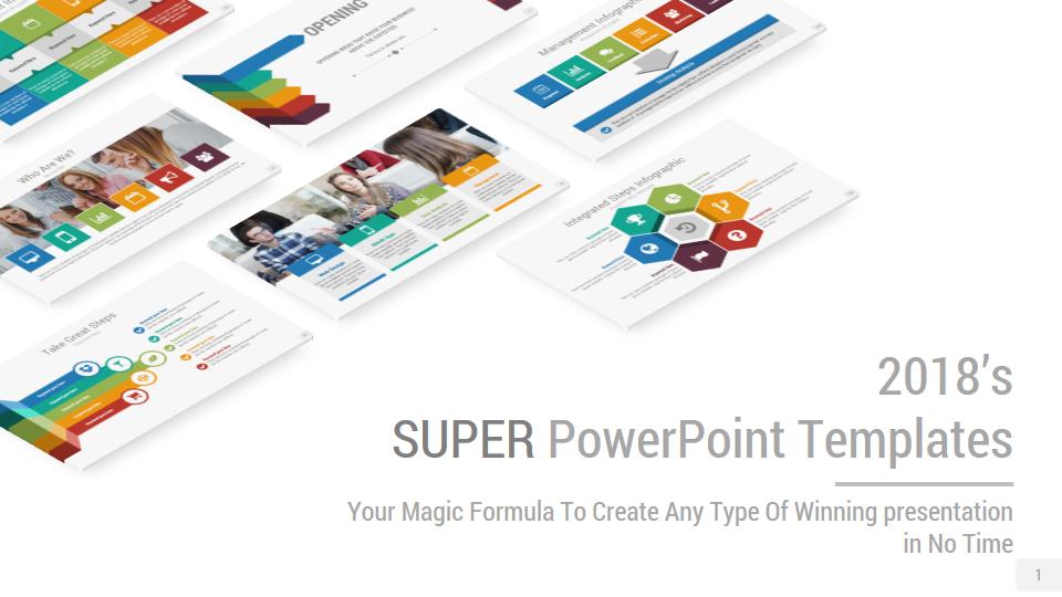 Super PowerPoint Presentation Template