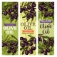 Vector Olives Bunch Sketch Banners for Olive Oil - GraphicRiver Item for Sale