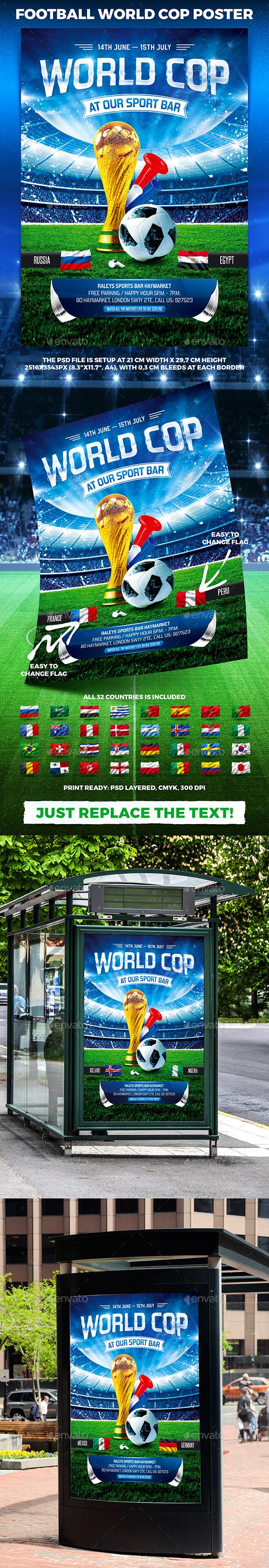 Football World Cop Poster vol.2 - Sports Events