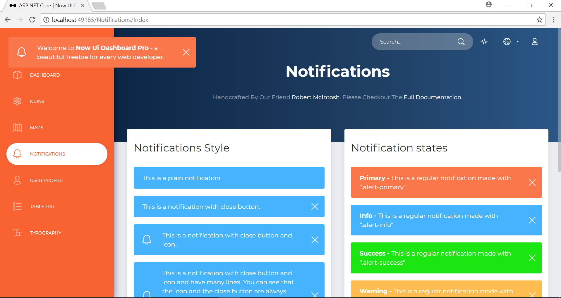 Asp Core Starter Template Collections By Partialview Codecanyon