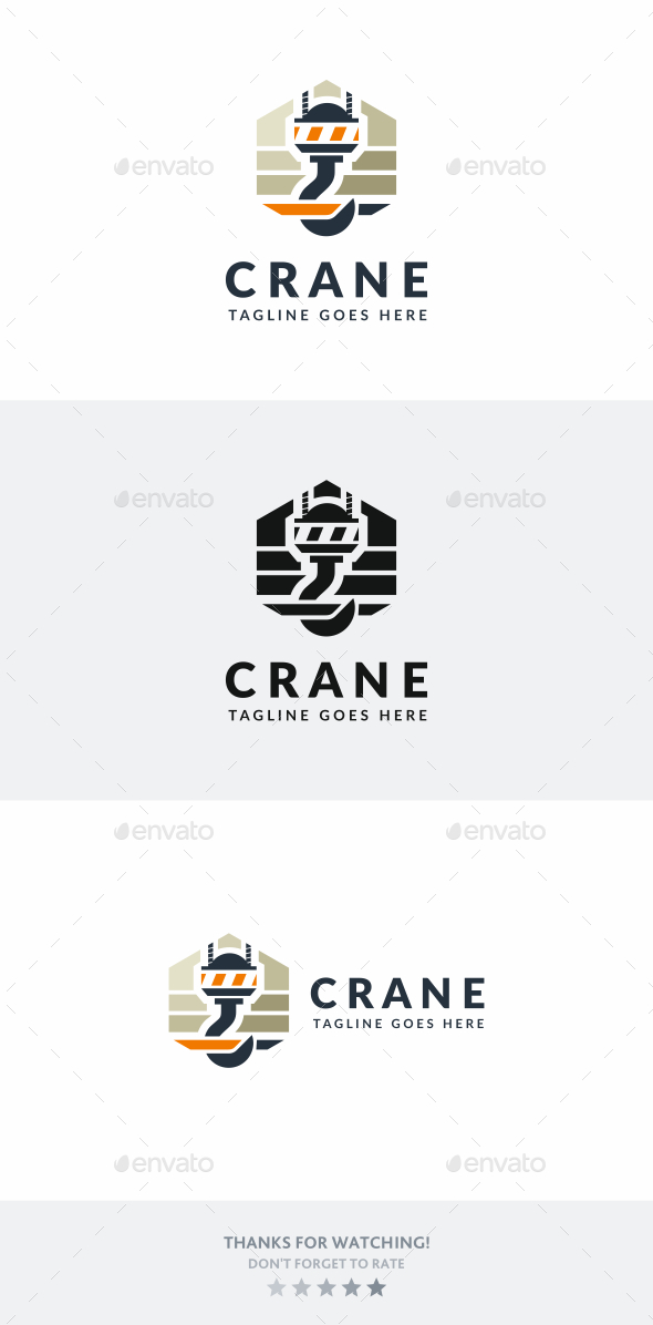 Crane Hook - Objects Logo Templates