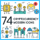 Bitcoin & Cryptocurrency Icons - GraphicRiver Item for Sale