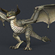 Game Ready Monster Dragon - 3DOcean Item for Sale