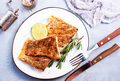 fried fish on plate - PhotoDune Item for Sale