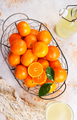 tangerines and tangerine juice - PhotoDune Item for Sale