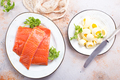 salmon fish and butter - PhotoDune Item for Sale