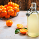 tangerines and tangerine juice - PhotoDune Item for Sale