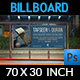 Islamic Billboard Template Vol.2 - GraphicRiver Item for Sale