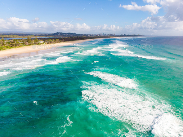 Gold Coast View - Stock Photo - Images