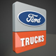 Ford Trucks 3d Logo