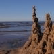 Sand Castles at Baltic Sea Shore - VideoHive Item for Sale