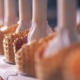 Waffle Cones Getting Filled with White Cream - VideoHive Item for Sale