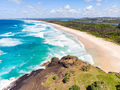 Fingal Head View Over Wommin Bay - PhotoDune Item for Sale